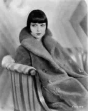 The 1920s: Flapper icon Louise Brooks sporting the iconic bob hairstyle.