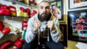 Mike Towell: The Dundee fighter was fighting for shot at British title.