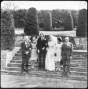 Then: The steps in the gardens recognised by Christine Read.