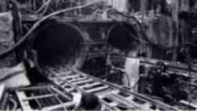 Major renovation: The tracks at St Enoch in 1979.