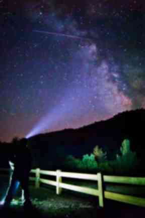 Meteor: The rocks are estimated to be 60 million years old