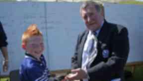 Captains: Ian McLaughlan meets Dalziel's P6 skipper