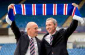 Mark Warburton, David Weir, Rangers