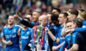 Mark Warburton, Rangers, Championship trophy