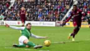 Scottish Cup: The two sides met at Tynecastle on February 12.