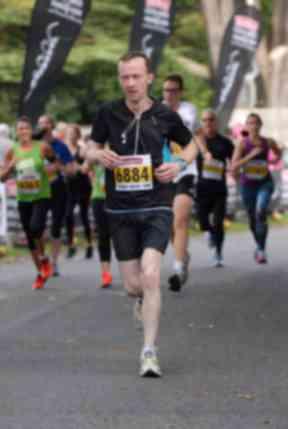 Robin hopes to run a marathon soon.