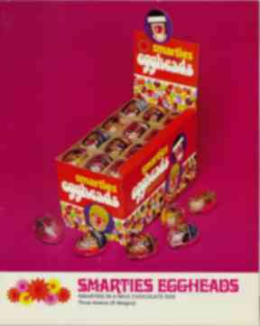 Smarties Eggheads were discontinued in the 1990s.