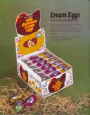 Rowntree's introduced its version of the cream egg in 1963.