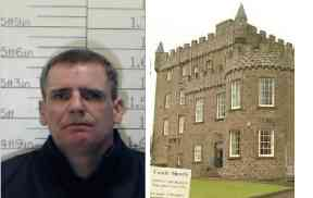 Absconded: Boyd is thought to be on the run in Glasgow