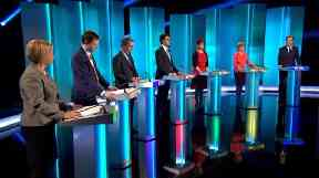 Unlike this 2015 ITV debate, there will be no place for the SNP and Lib Dems.