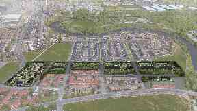 Glasgow 2014: Proposals for extension to site.
