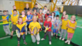 Tennis boost for Lanarkshire