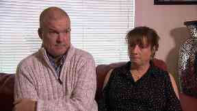 Parents: Ian and Antoinette are still searching for answers.