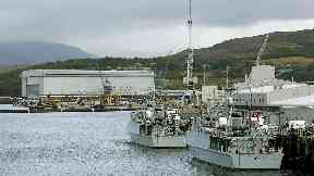 Faslane: Punishments said to have been handed out.