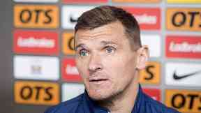 Lee McCulloch: Interim manager is keen to speak to board.