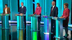 ITV Debate: Theresa May and Jeremy Corbyn did not attend.