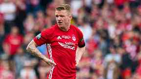 Jonny Hayes: Set to leave Aberdeen after five years.