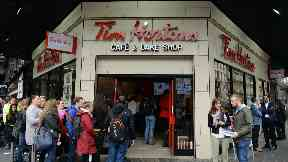 Tim Hortons: Chain 'thrilled' to open second outlet in Glasgow.