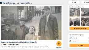 Storing memories: Users can upload old photos and record voice tags.