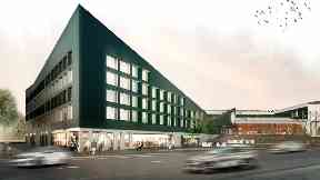 Plans: The Celtic hotel would be five storeys.
