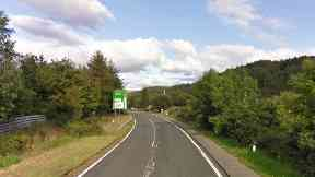 A87: Biker, pillion passenger and lorry driver hurt in collision.
