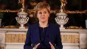 Nicola Sturgeon: The First Minister has written to Holyrood's presiding officer.