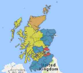 How Scotland looked after the 2017 general election.