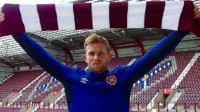 Rafal Grzelak: Pole joins Hearts from Korona Kielce in his homeland.