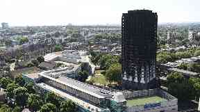 At least 80 people were killed in the Grenfell Tower fire in June.