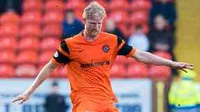 Return: Thomas Mikkelsen is back at Tannadice.