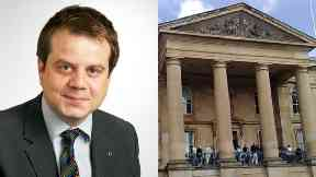 Craig Melville was fined at Dundee Sheriff Court.