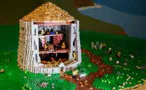 Broch: The historical Lego building took a year to build.