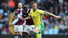 Steven Whittaker: Defender was released by Norwich in the summer.