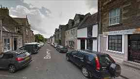 Broomgate: A woman died in hospital after the fire in Lanark.