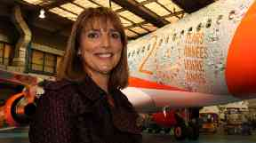 Carolyn McCall oversaw EasyJet's 20th year celebrations during her tenure at the budget airline.