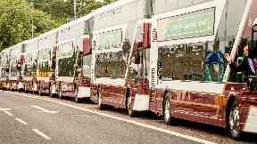 Double-decker: The buses will run on the 26 route (file pic).