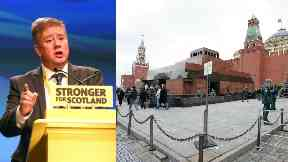 Keith Brown: The Scottish minister met with the Russian government's top diplomat in Scotland.