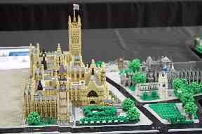 AFOL Rocco Buttliere designed this model of Houses of Parliament in two months