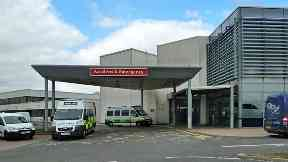 Hospital: Death being treated as unexplained.