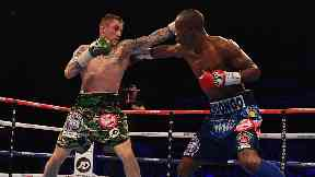 Ricky Burns: Scots fighter, left, is ready to get back in the ring after defeat.