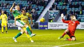 Sharp: Stokes scored twice against Ayr.