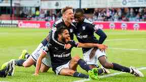 Dundee: The dark blues beat city rivals Dundee United 2-1.