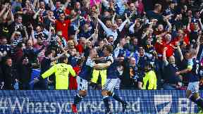 Scotland benefited from their two wins in September.