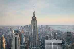 Empire State Building: Required seven million man hours to finish.