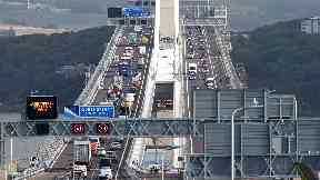 Traffic: Bridge opened around 2am on Wednesday.