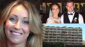 Kirsty Maxwell: She died after plunging in Benidorm.