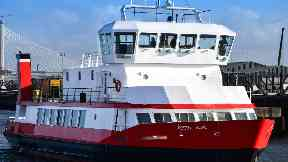 Ship: MV Forth hope has been fitted with medical facilities.