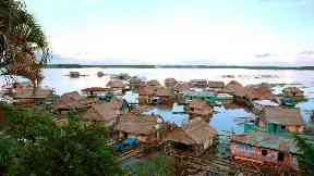 Medicine: Communities on the Amazon have little access to healthcare.