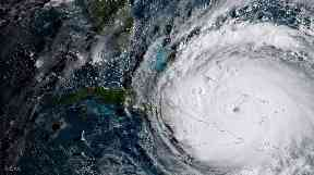 The storm has been battering the Caribbean.