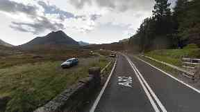 A82: Crash happened at Altnafeadh, Glencoe, on Tuesday.
